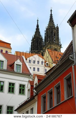 Meissner Dom Cathedral, Meissen, Saxony, Germany