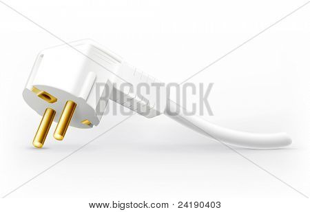 Power plug, vector
