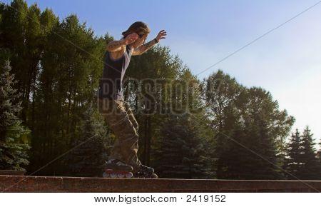 Roller Boy Blading