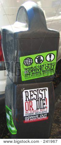 Political Parking Meter