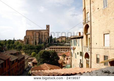 Siena, Tuscany In Italy