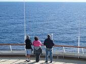 Looking Out At Sea