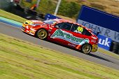 Ford Focus at BTCC Knockhill