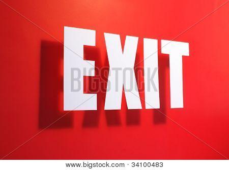 Exit somewhere near