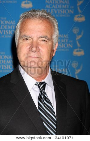 LOS ANGELES - JUN 17:  John McCook arrives at the 2012 Daytime Creative Emmy Awards at Westin Bonaventure Hotel on June 17, 2012 in Los Angeles, CA