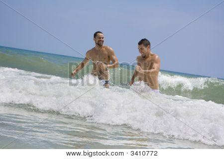 Hombre en el océano