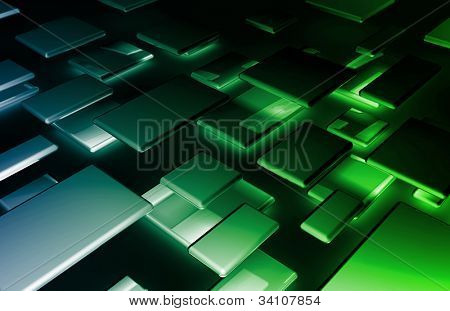 Banner Background Design Element Abstract as Art