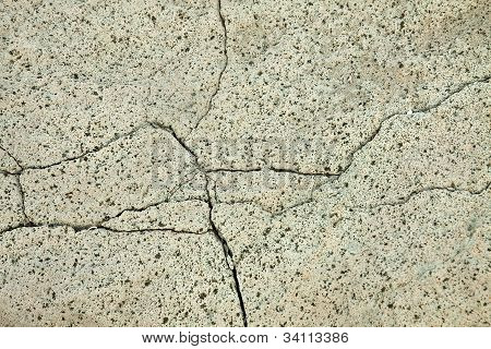 Textura en la superficie de la roca