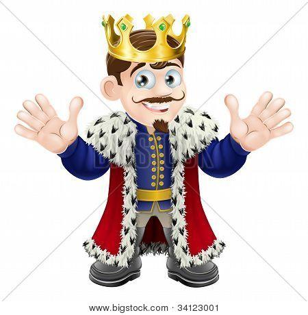Hübsch King-Mann