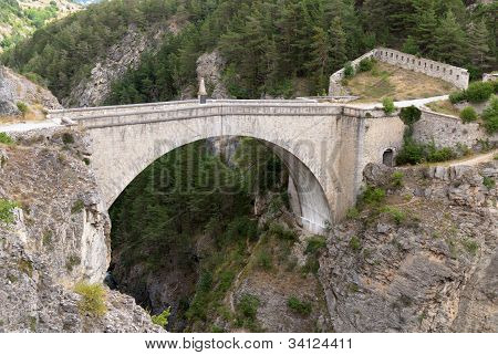 Briancon, France. Pont d'Asfeld.