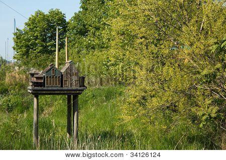 City Replica Birdhouse