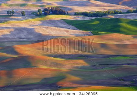 Rolling Hills of Palouse Region