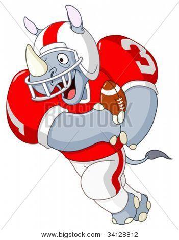 Football rhino