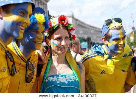 Sweden Football Fans