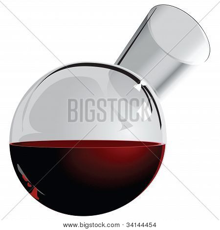 Round Jug Of Wine