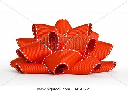 Rote Grosgrain Bow