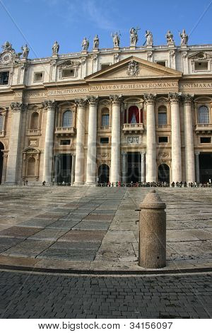 Saint Peter Church In Rome