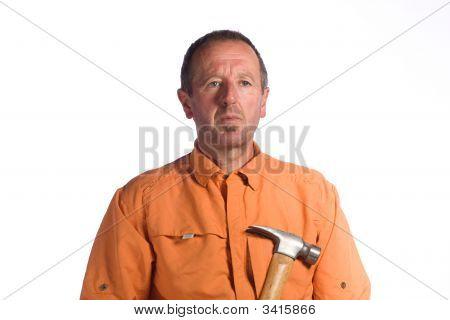 Hombre con martillo