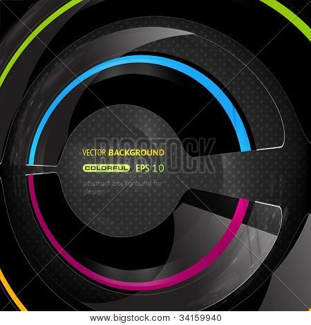 EPS10 abstract swirl vector background