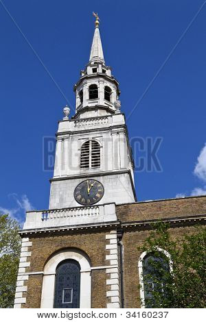 St. James's Church In Clerkenwell, London