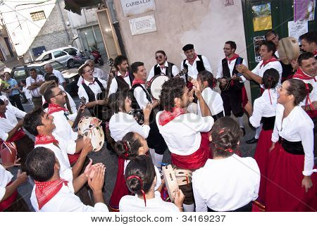 Sicilian Folk Group From Polizzi Generosa