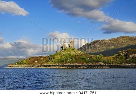Burg Mohel, Kyleakin, Isle Of Skye, Schottland