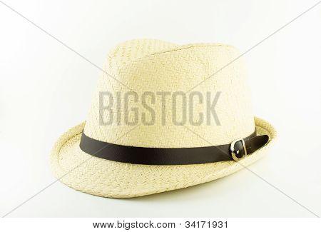Whit Weaving Hat