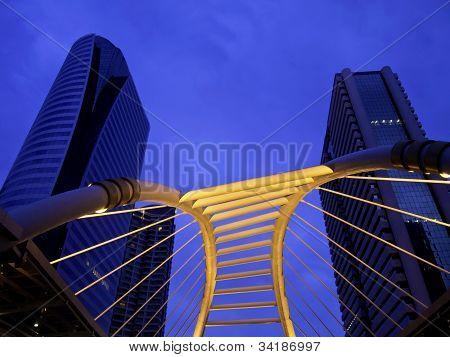 Schamhaare Himmelspfad Bangkok Innenstadt Square