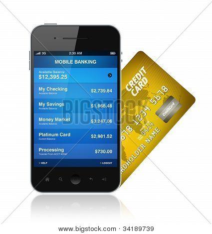 Mobile-Banking-Konzept