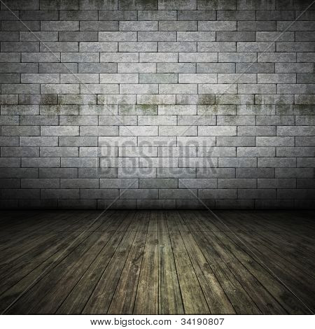 An image of a nice brick wall floor for your content