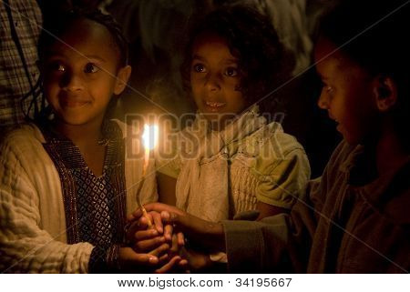 Ethiopian Holy Fire Ceremony