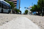 image of boise  - View from the middle of downtown urban street. Photo taken in Boise Idaho. ** Note: Shallow depth of field - JPG