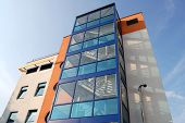 pic of medical office  - modern high clinic office building in Vilnius - JPG