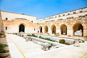 stock photo of rockefeller  - Rockefeller archaeological museum in Jerusalem - JPG