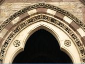 Historic Church Arch poster