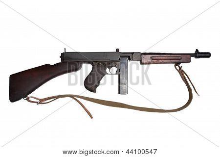 Wwii Period Tommy-gun