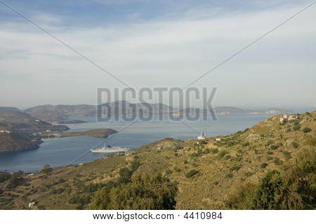 Harbour Of Skala, Patmos