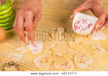 Homemade Cookie Decoration