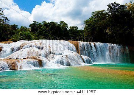 Agua Azul Waterfall