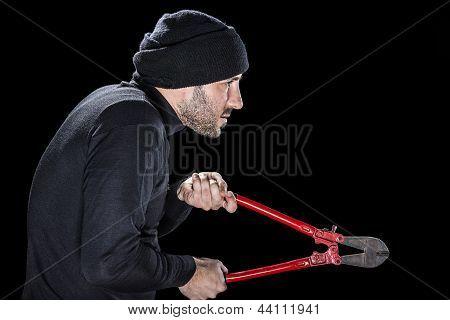 Profile Of A Burglar