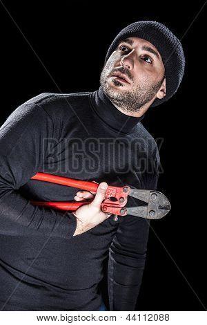 Tired Burglar