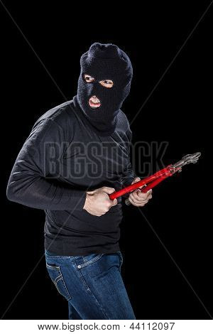 Burglar With Balaclava