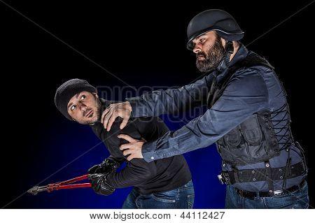 Arresting A Burglar