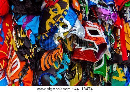 Colorful Wrestling Masks