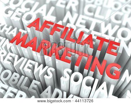 Affiliate Marketing Concept.