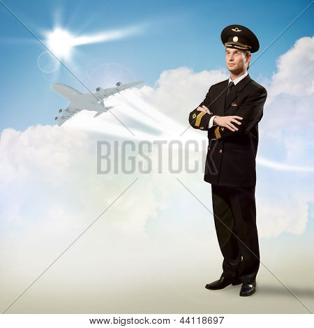 pilot is in the form of arms crossed