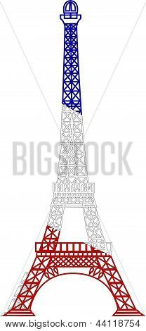 The Vector Eiffel Tower