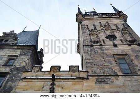 Stare Mesto Tower In Prague.