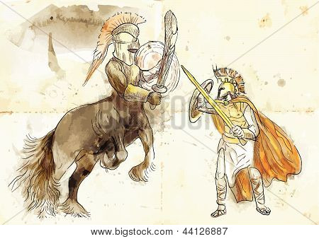 Theseus and Centaur