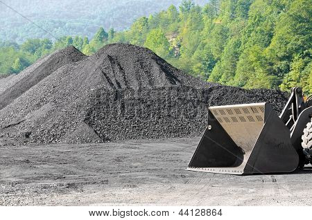 Stockpile Of Coal
